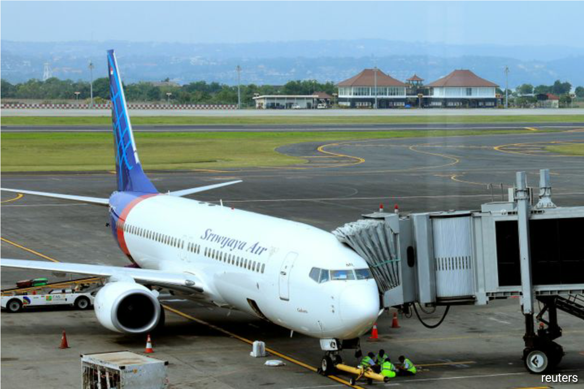 The fleet of Sriwijaya and regional offshoot NAM Air is nearly 20 years old on average - nearly three times older than Lion Air group, according to website Planespotters.net.