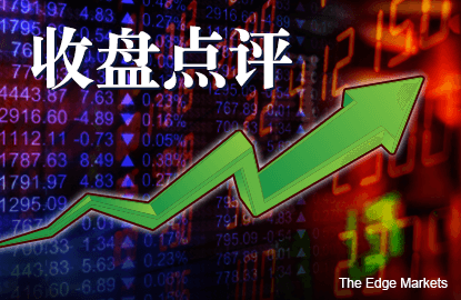 连续5个交易日收升 马股闭市涨2.04%