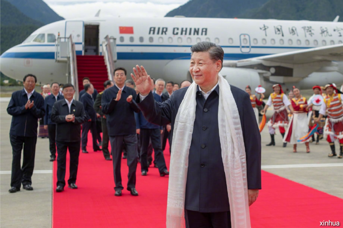Xi Jinping, general secretary of the Communist Party of China Central Committee.