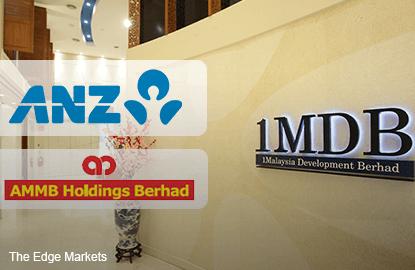 ANZ总执行长:1MDB无疑影响大马银行集团股价