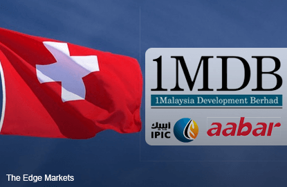 Swiss AG has 'elements' to suspect 2 officials, movie firm benefited from 1MDB funds
