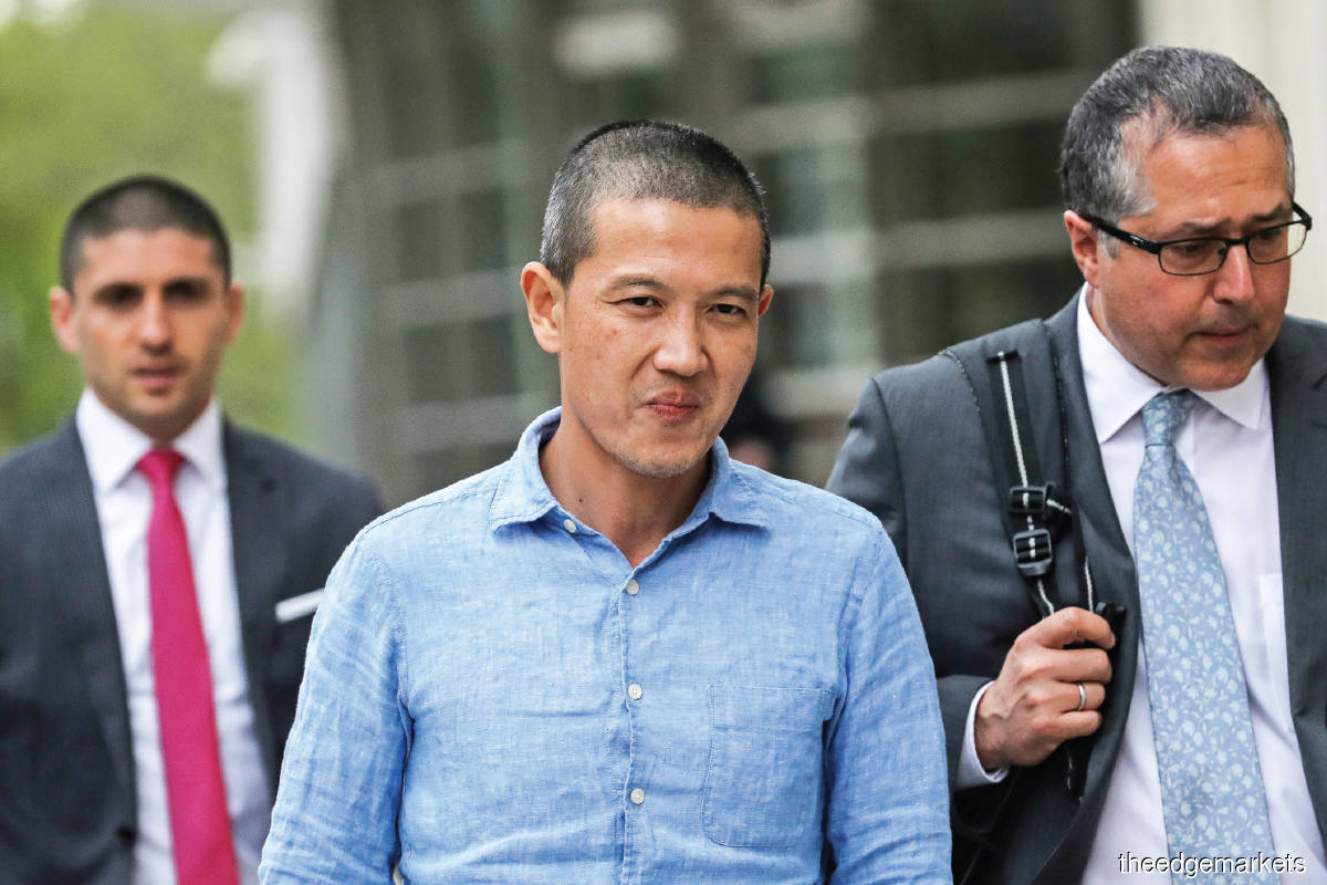 Ng was charged in court for his role in the issuance of US$6.5 billion worth of 1MDB bonds. (Photo by Reuters)