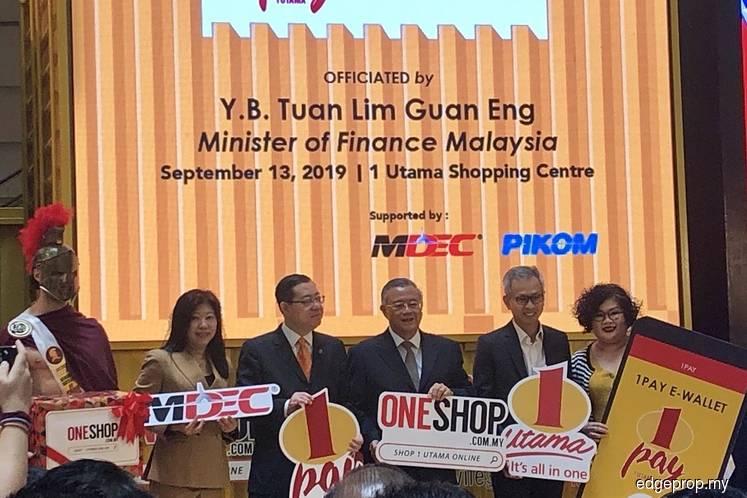 1 Utama launches e-wallet and e-commerce platform