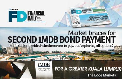 市场为1MDB第二批债息支付准备
