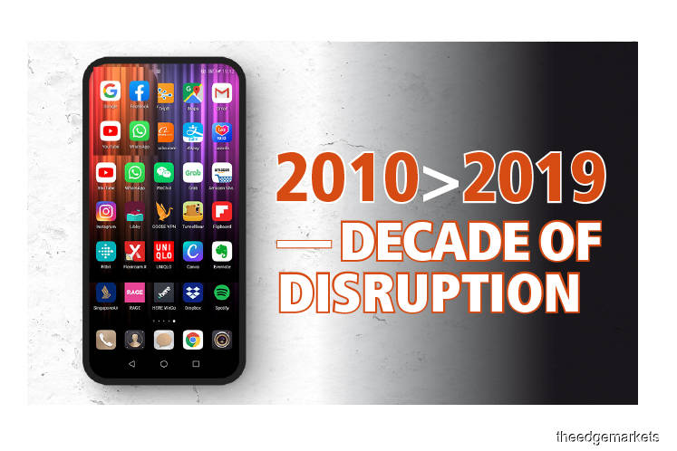 2010 > 2019: Decade of Disruption - How our lives were taken over by the smartphone