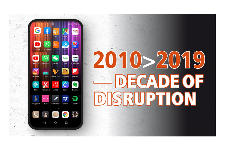 2010 > 2019: Decade of Disruption - Media companies reeling from digital onslaught