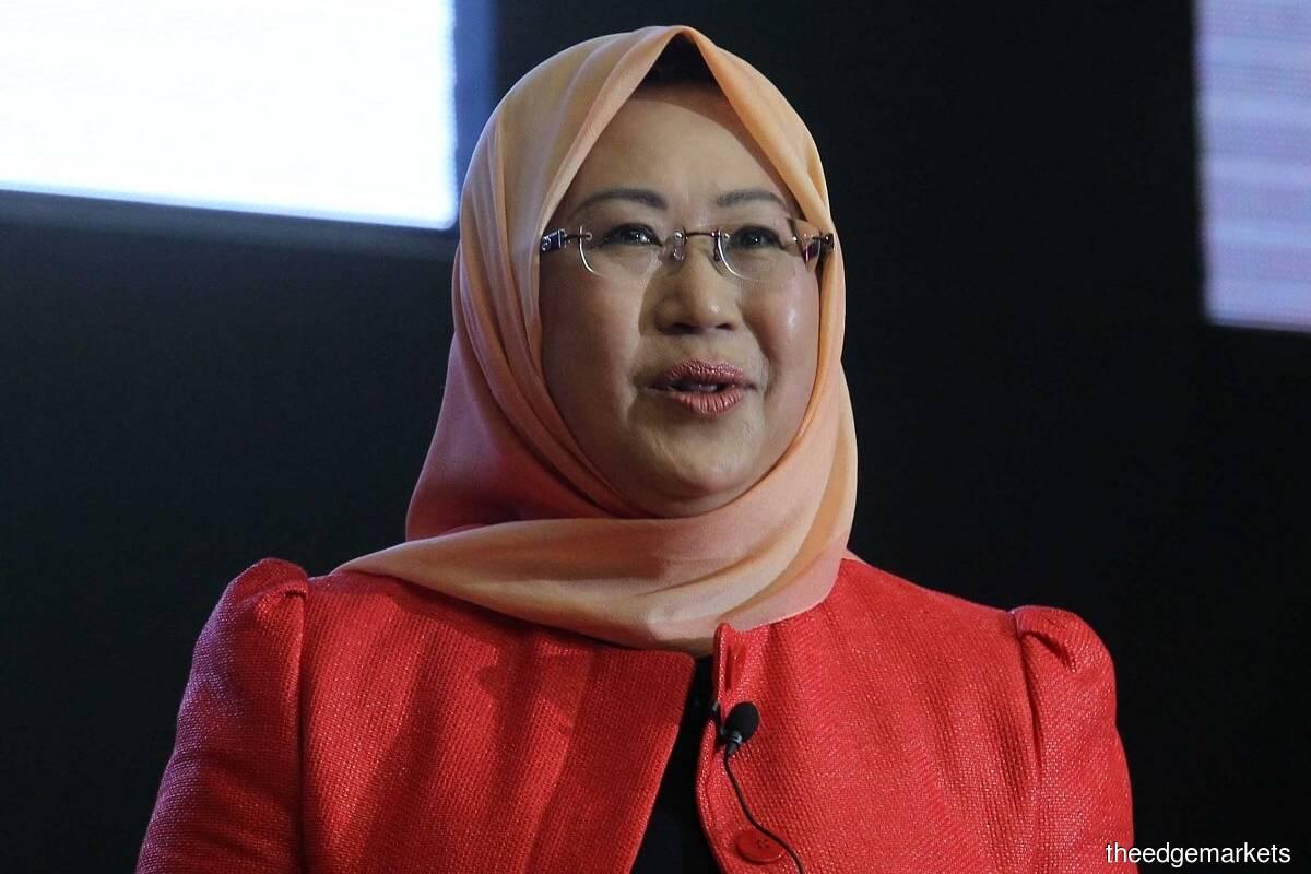 Tan Sri Dr Jemilah Mahmood (File pic by Kenny Yap/The Edge)