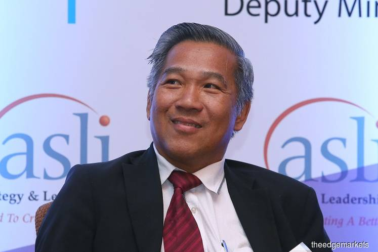 SME Association of Malaysia president Datuk Michael Kang Hua Keong (Photo by Sam Fong/The Edge)