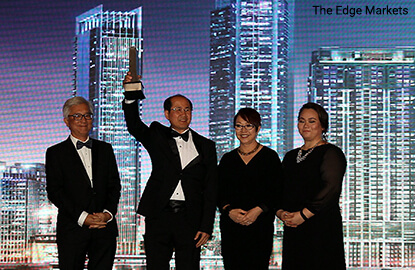 S P Setia returns to top spot at The Edge's property developer awards