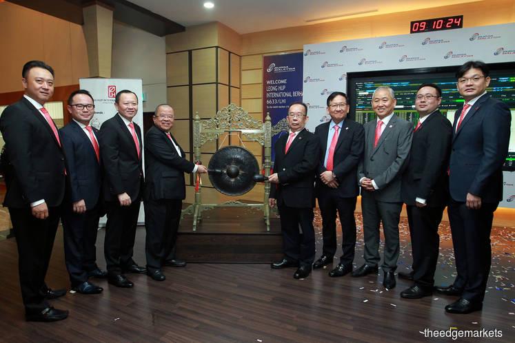 Leong Hup International makes firm Main Market relaunch amid volatile market
