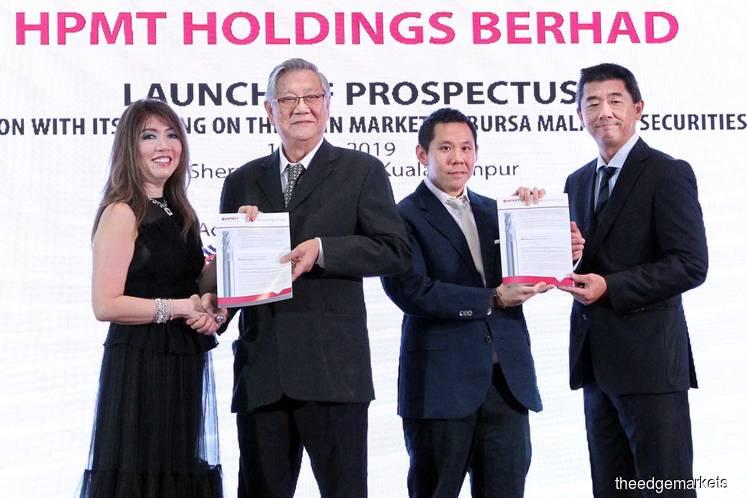 HPMT set to list on June 12, sets offer price at 56 sen