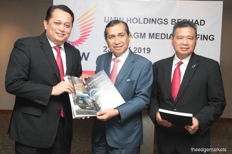 UMW Holdings not revising car sales target for 2019 after OPR cut