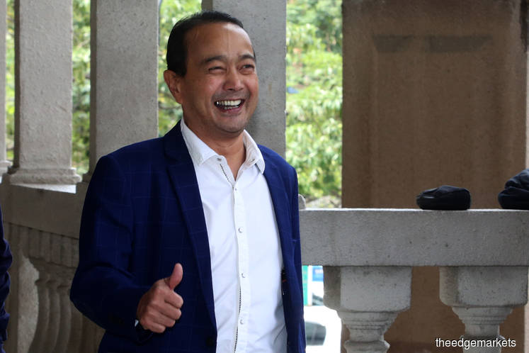 Ihsan Perdana was following funders' instructions when account was used to transfer funds