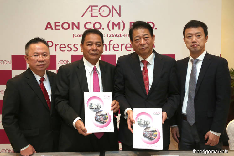 Aeon to spend about RM500m on mall renovations in FY19