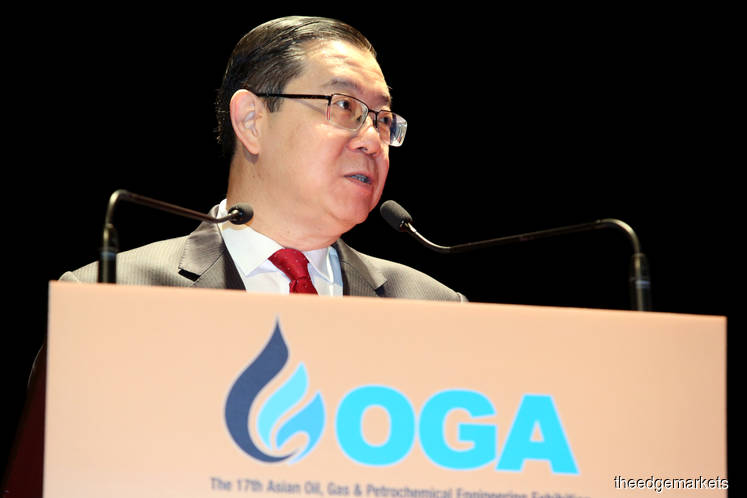 Expected crude oil price rebound positive for Malaysia's upstream O&G sector, says Guan Eng