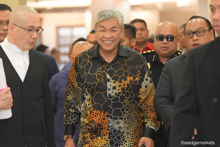Zahid slapped with 33 more charges for receiving RM42.7m bribes