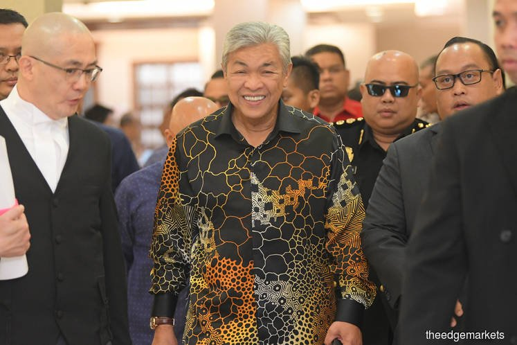 High Court allows Zahid's seven corruption charges to be heard in Shah Alam