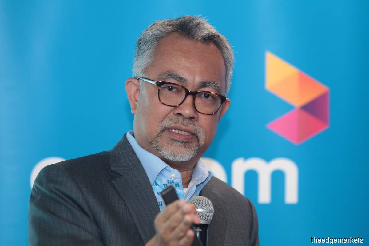 Idham: We have started with the [5G] demonstration project. To me, probably the second half of next year is the right time to start commercialising the network. Between now and then, we need to get the equipment ready, improve our 4G foundation. (File pic by Mohd Suhaimi Mohamed Yusuf/The Edge)