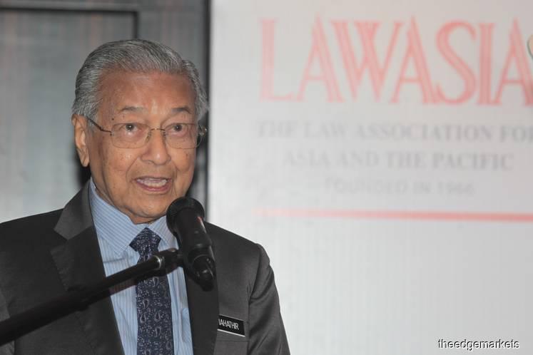 Dr Mahathir: Malaysia's Anti-Fake News Act may be amended