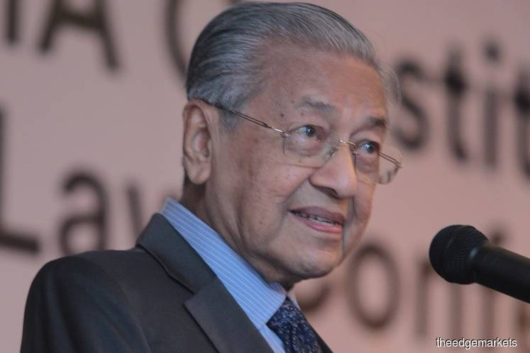 Dr Mahathir says he is healthy, 'blood pressure is good at 120/70'
