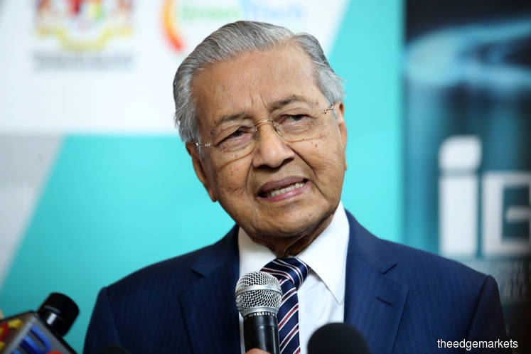 Dr Mahathir says no to Goldman's 1MDB offer of under US$2b to Malaysia — FT