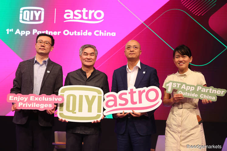Astro and iQIYI launch first streaming app outside China