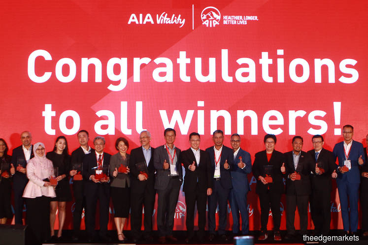 AIA honours 15 firms for creating healthy work environment