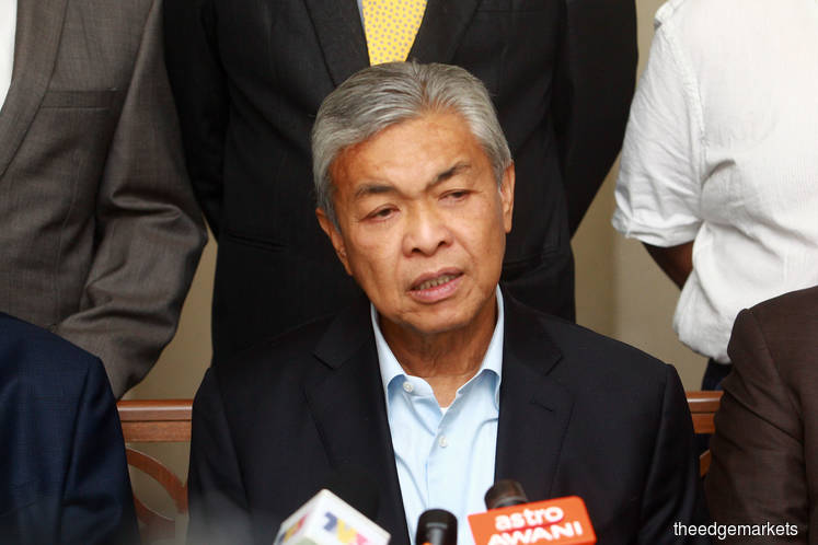 BN MPs' meeting with Azmin to get more allocation for constituencies, Zahid says
