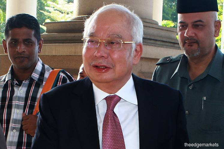 Najib claims his signatures in SRC documents were forged, manipulated