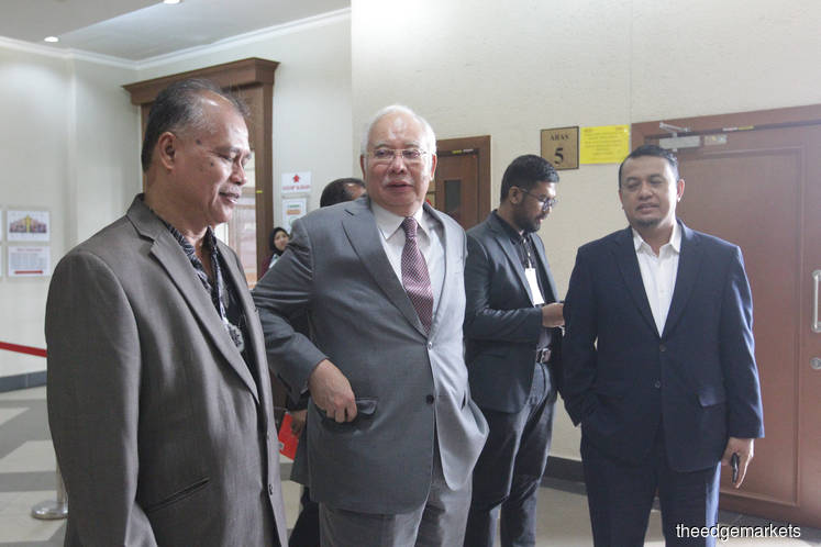 Najib says Azlin told him in 2014 King Abdullah will make more donations