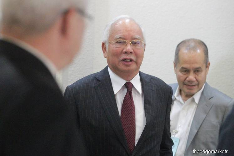 Najib: We need an expert witness because my signature was forged