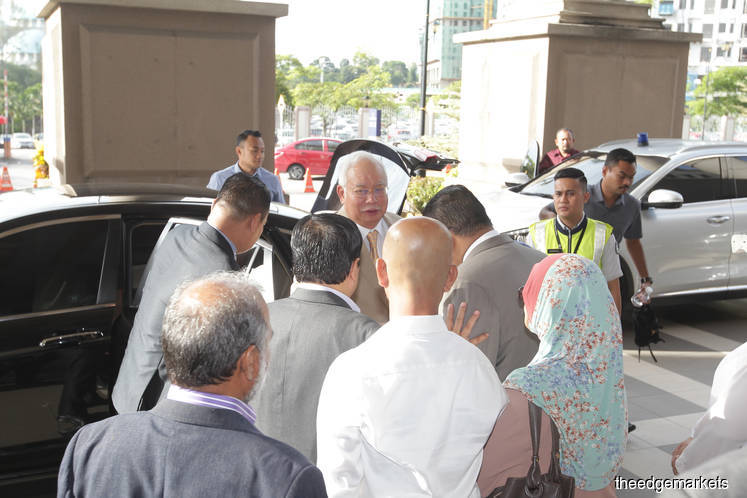 Najib: SRC should have brought money back to Malaysia, not me