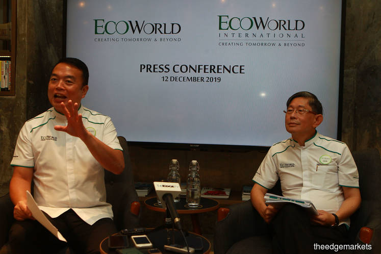 EcoWorld plans first dividend in FY20