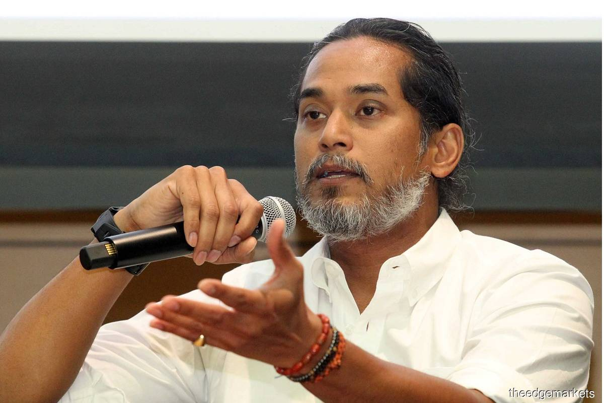 Khairy Jamaluddin (File Photo by Kenny Yap/The Edge)