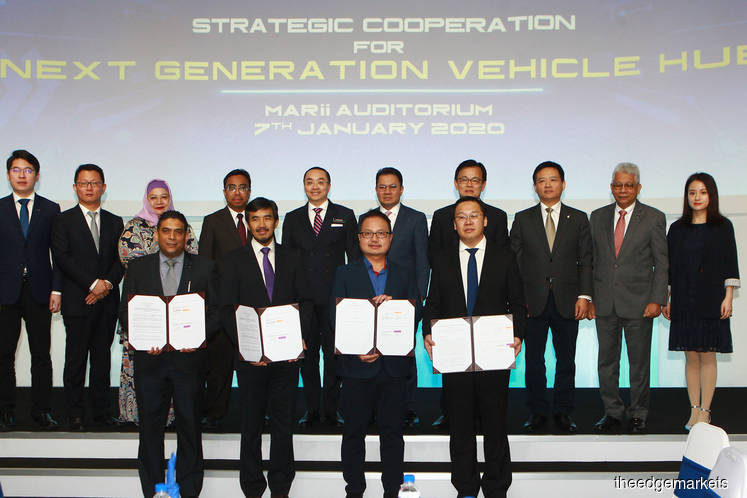 Malaysia, China collaborate to establish first next-gen vehicle hub in SE Asia