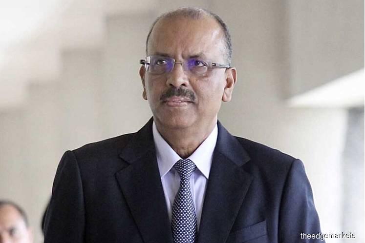 Former chief secretary to the government Tan Sri Ali Hamsa