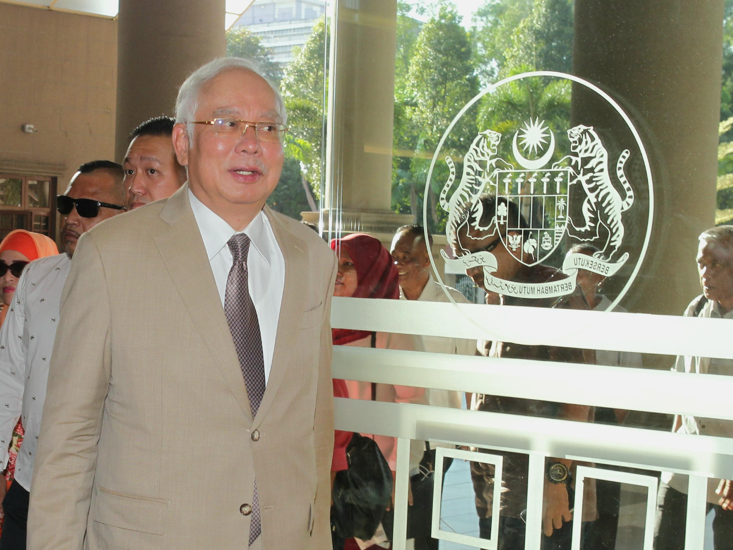 SRC Trial: Najib denies Arab royalty letters were forged