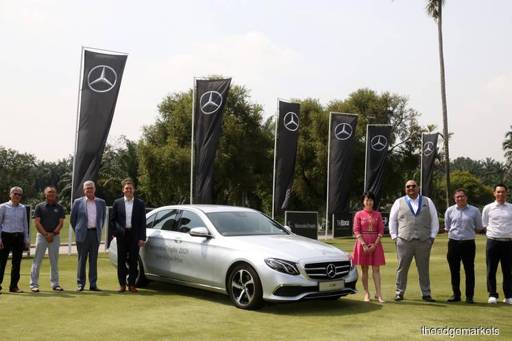 MercedesTrophy golf tournament celebrates 30th anniversary