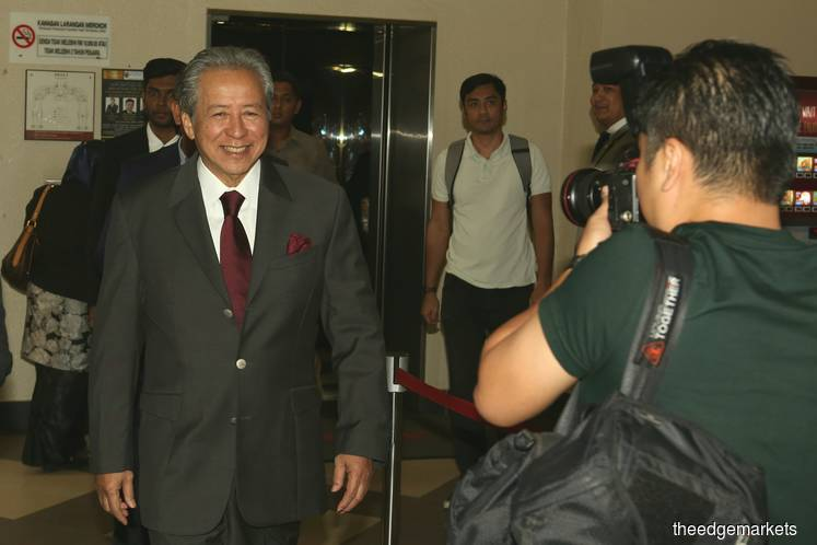 Datuk Seri Anifah Aman (Photo by Suhaimi Yusuf/The Edge)