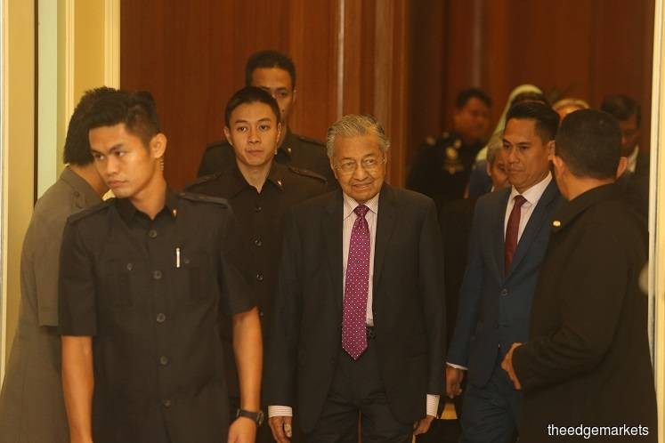 Dr M confirms agreeing to return as Bersatu chairman