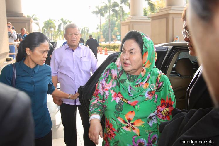 PMO set up dept for Rosmah as PM's wife