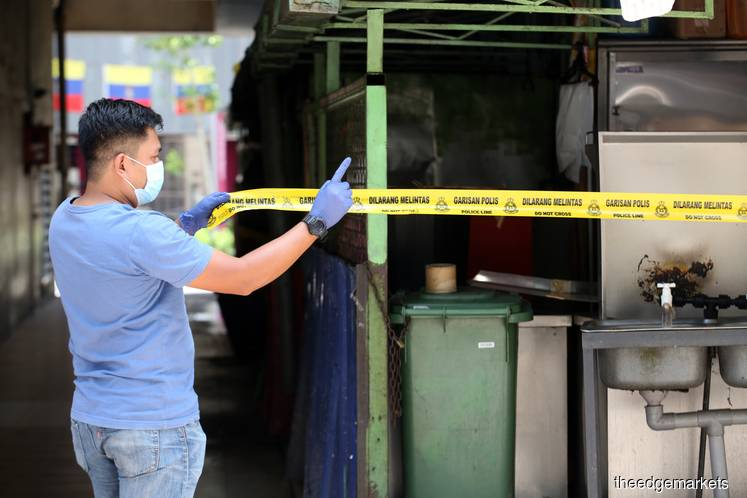 EMCO areas in KL see 15 new Covid-19 cases today