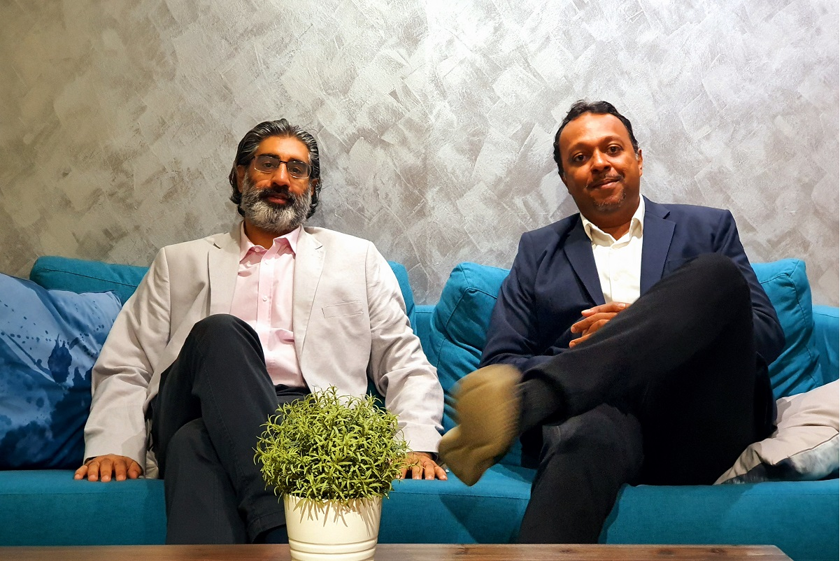 Paresh Khetani (left) and Gokula Krishnan