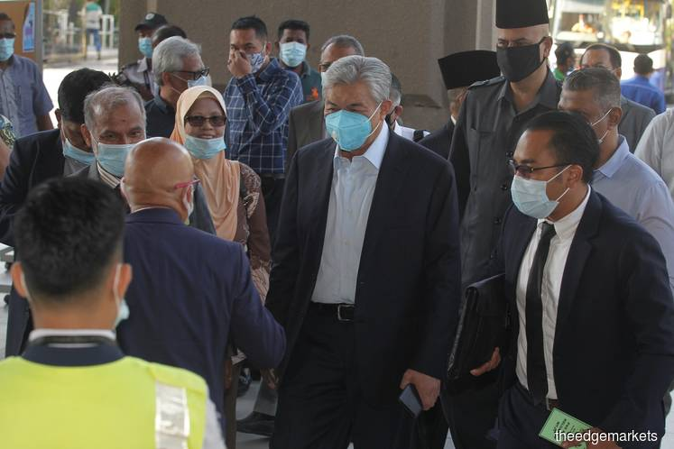After a two-month break, the trial of former Deputy Prime Minister Datuk Seri Ahmad Zahid Hamidi, who is facing 47 charges involving millions of ringgit of Yayasan Akalbudi funds, has resumed on June 15. (Photo by : Mohd Suhaimi Mohamed Yusuf/theedgemarkets)