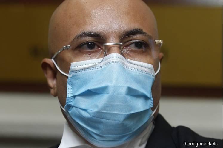 Umno lawyer Datuk Hariharan Tara Singh. (Photo by Mohd Izwan Mohd Nazam/The Edge)