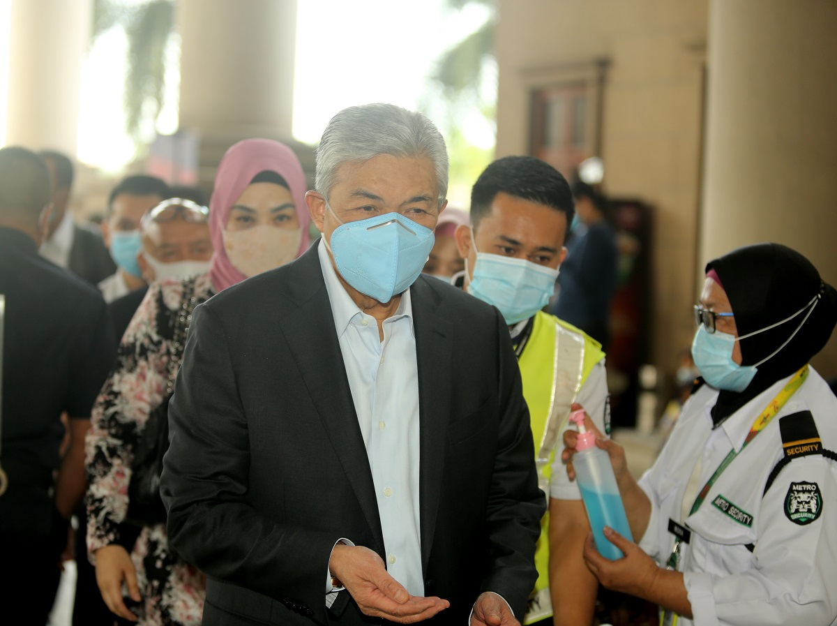 Ex-deputy prime minister Datuk Seri Ahmad Zahid Hamidi is facing 47 charges, with 12 of them for criminal breach of trust, eight for corruption and 27 for money laundering involving his charitable trust Yayasan Akalbudi. (Suhaimi Mohd Yusuf/The Edge)