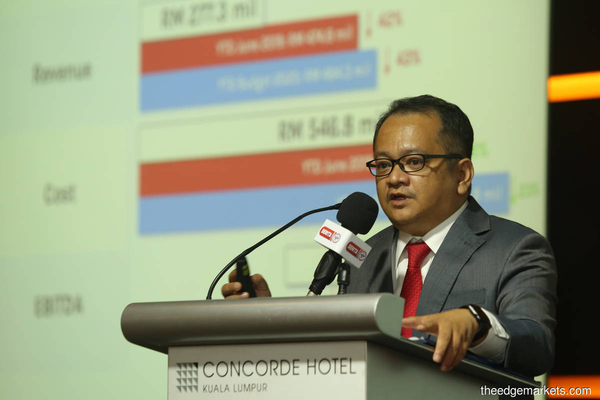 Prasarana president and group CEO Muhammad Nizam Alias. (Photo by Suhaimi Mohd Yusuf/The Edge)