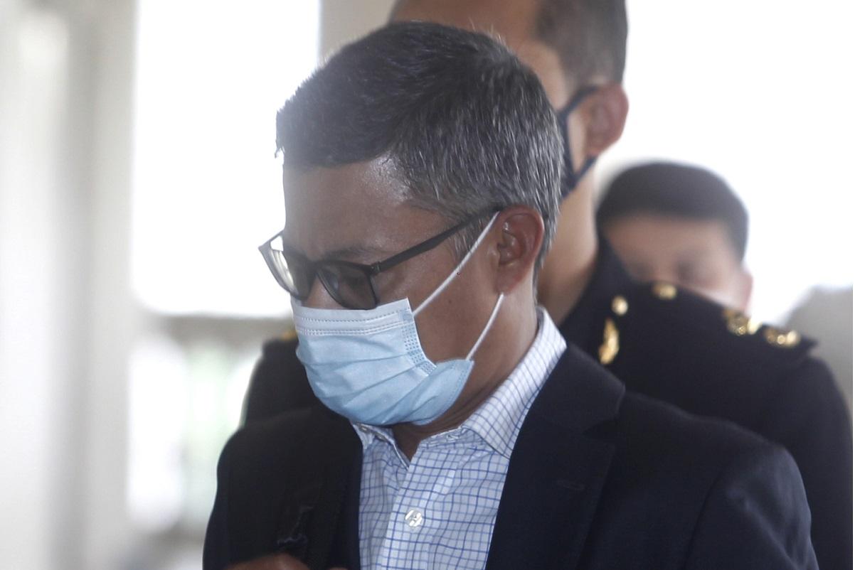 Former 1MDB CEO Mohd Hazem Abdul Rahman (Photo by Mohd Izwan Mohd Nazam/The Edge)
