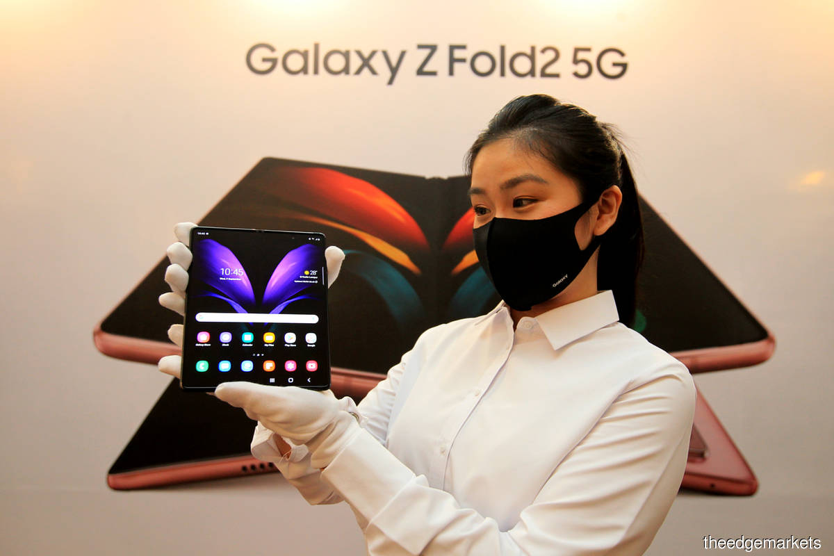 Samsung unveils its third generation of foldable device — Galaxy Z Fold2