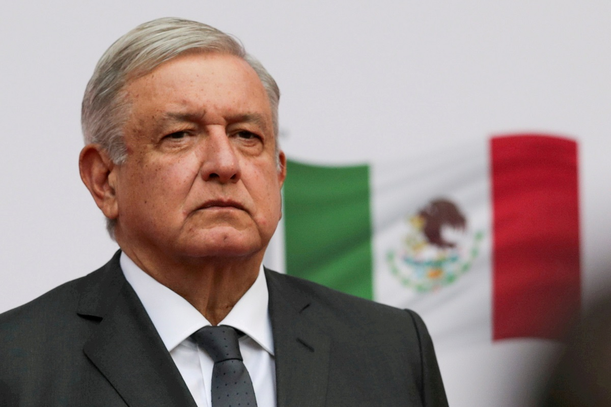 The president, who is back in Mexico City after a three-day visit to parts of northern and central Mexico, said he would continue working. (Photo by Reuters)